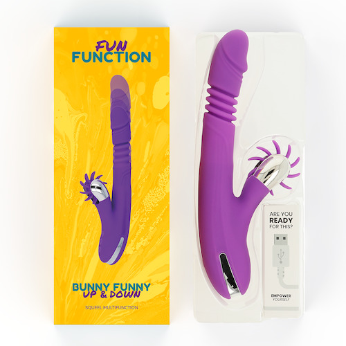 Fun Function Bunny Funny Up & Down