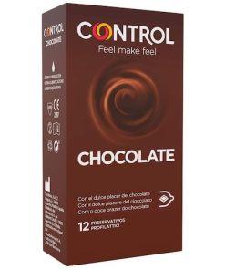 control preservativos de chocolate