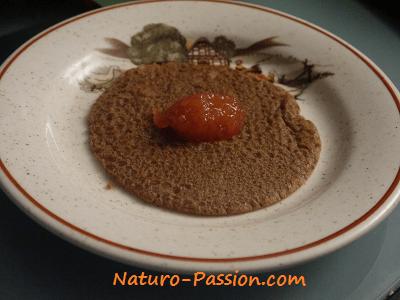 Crêpes véganes et sans gluten de Florian