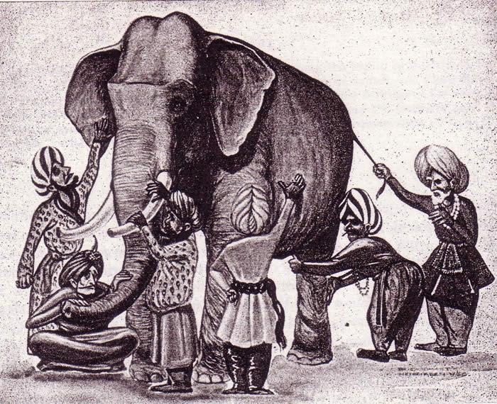 La Parabole des Aveugles et de l'Eléphant