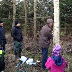 Workshop om birkesaft @ Naturplanteskolen   Hedehusene   Danmark