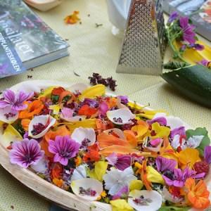 Selvforsyner i egen have - Fantasilater - De spiselige blomsterbede @ Det Økologiske Inspirationshus | Frederiksberg | Danmark