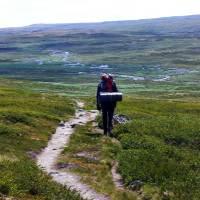 Wandern in Norwegen: Die Hardangervidda