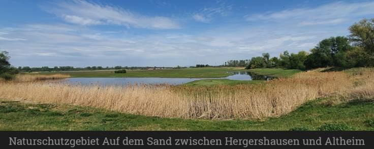 Naturschutzgebiet Auf dem Sand zwischen Hergershausen und Altheim