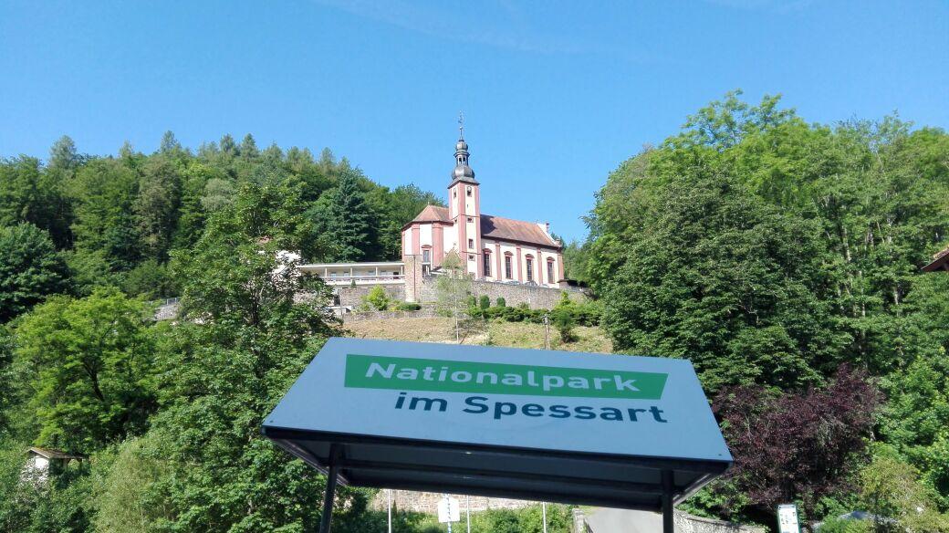 Spessarttour – Mariabuchen und Papst Franziskus
