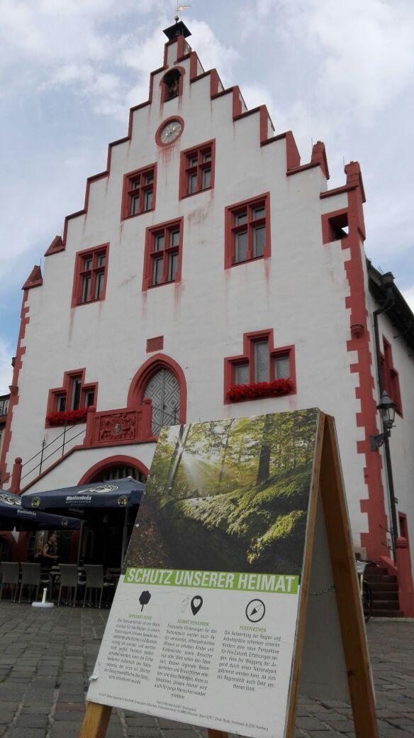 Spessarttour – Karlstadt profitiert von Nationalpark im Spessart