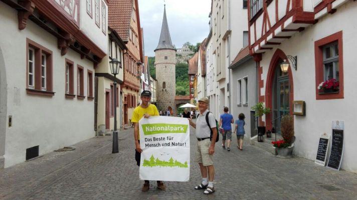 Nationalpark im Spessart, Marktheidenfeld und Umsonst & Draußen ein Herz für den Nationalpark im Spessart