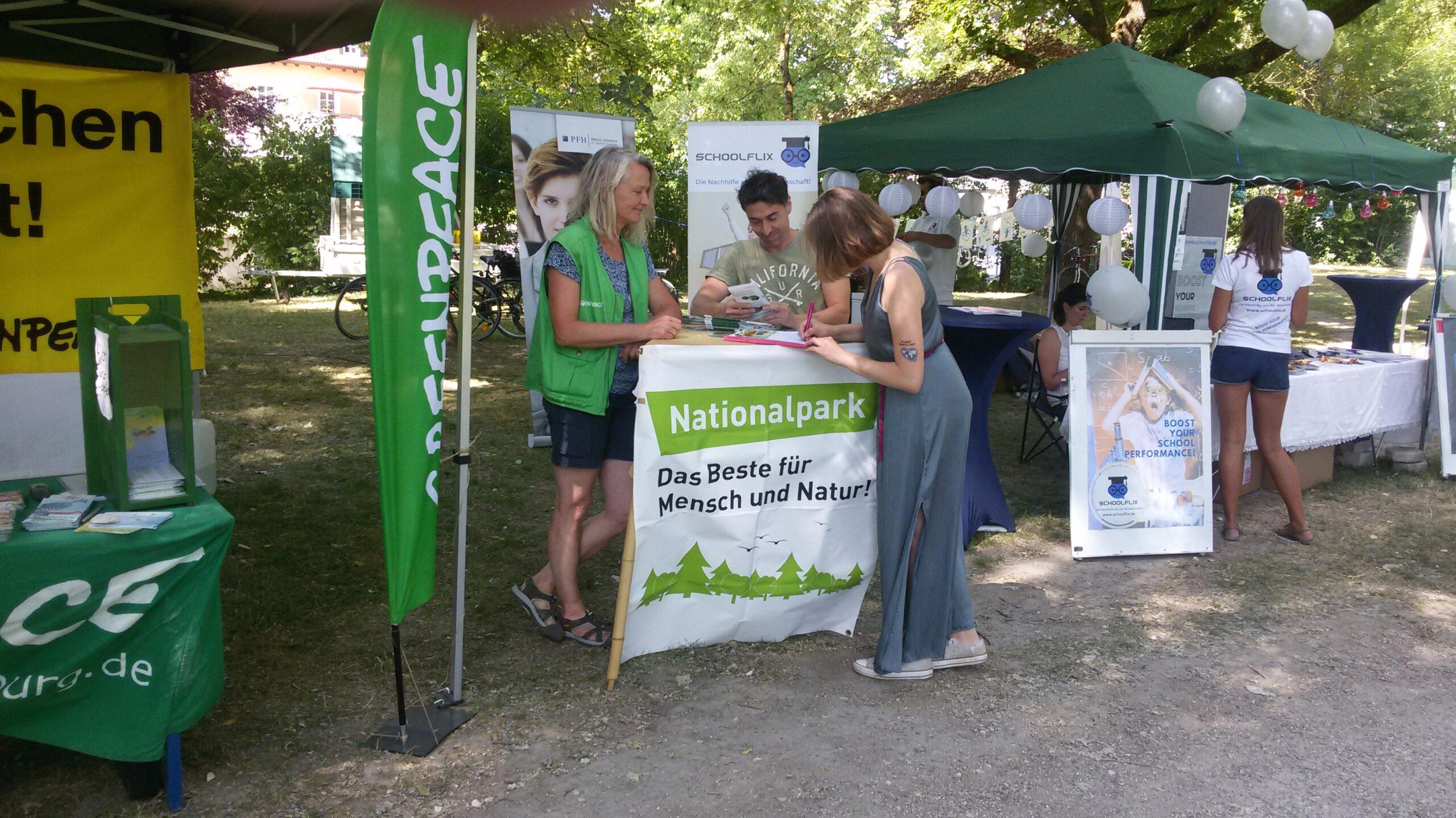 Gemeinsam für einen Nationalpark im Spessart