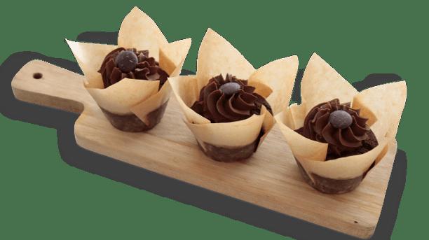 Biologisch Chocolade Cup Cakeje
