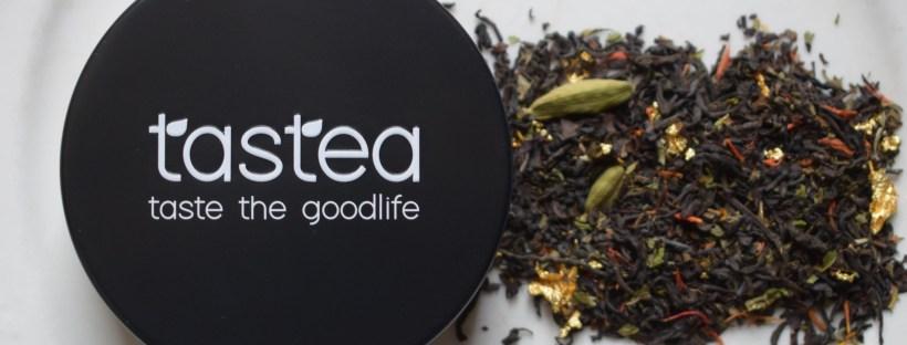 Chai Dubai tastea teablend thee proeven