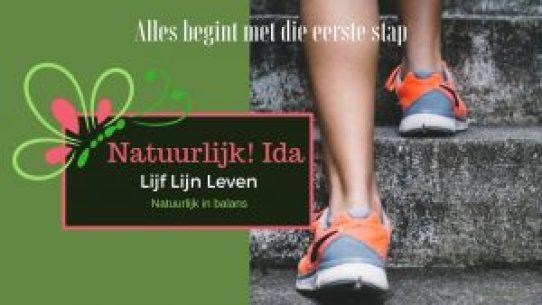 alles begint met die eerste stap