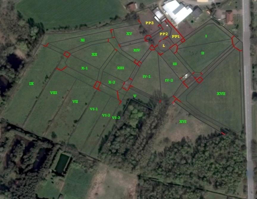 paddock paradise grondplan