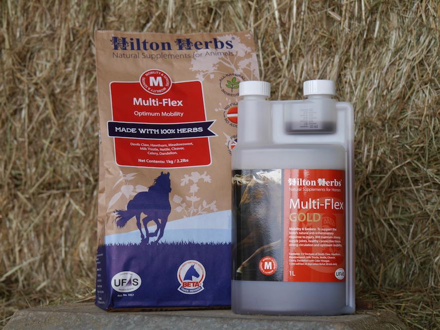 Hilton Herbs Multi Flex supplement voor soepele spieren en gewrichten