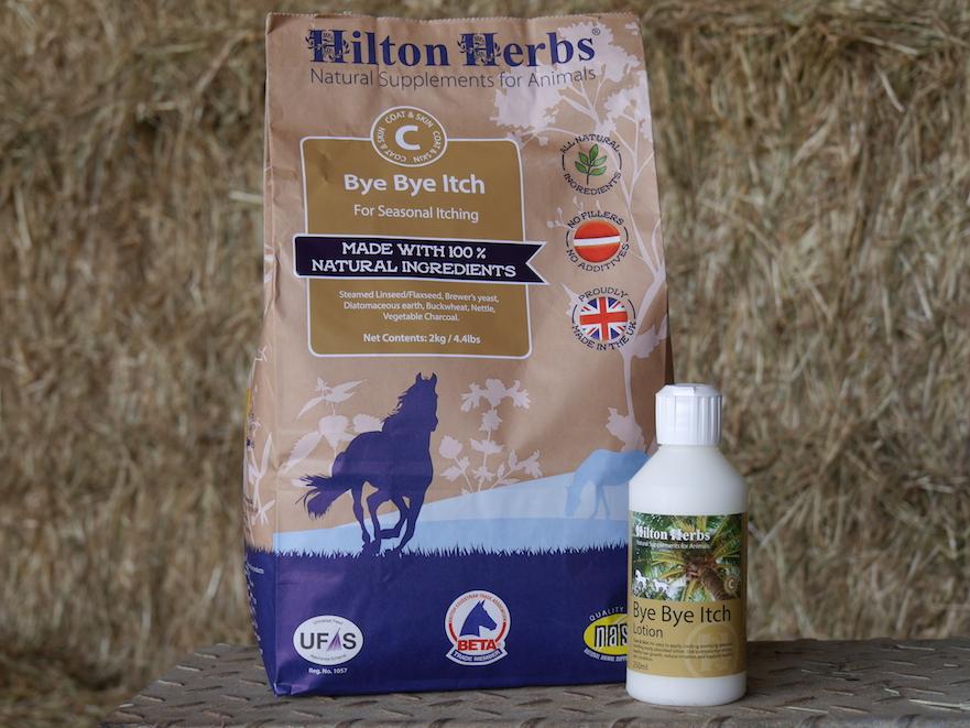 Hilton Herbs Bye Bye Itch voor paarden met zomereczeem