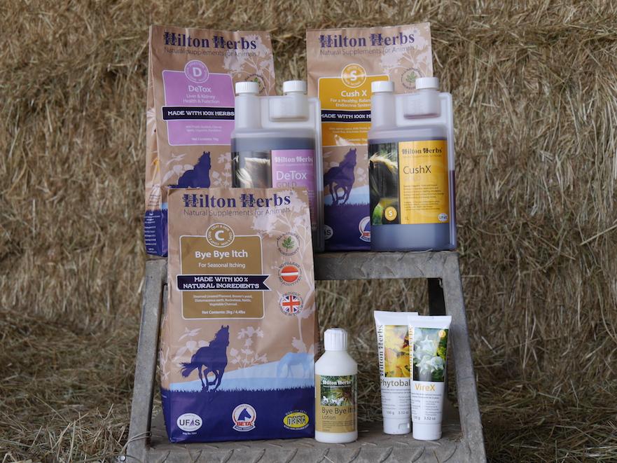 Hilton Herbs fytotherapie kruidengeneeskunde voor je paard