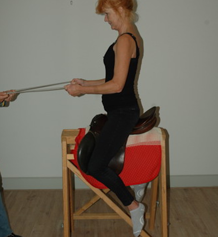centered riding oefening: centreren