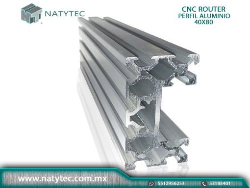 Cortar Perfil Aluminio para CNC Router México