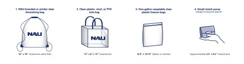 small resolution of nau branded or similar clear drawstring bags no larger than 16 x