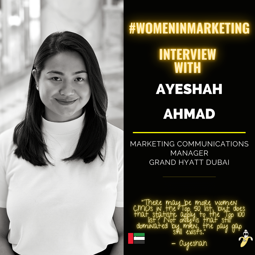 Women In Marketing, Ayeshah - Instagram Size