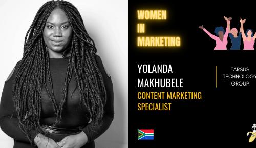 YOLANDA MAKHUBELE, LinkedIn, Women In Marketing (1)