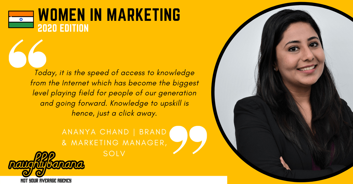 Ananya Chand, LinkedIn, Women In Marketing (Yellow)