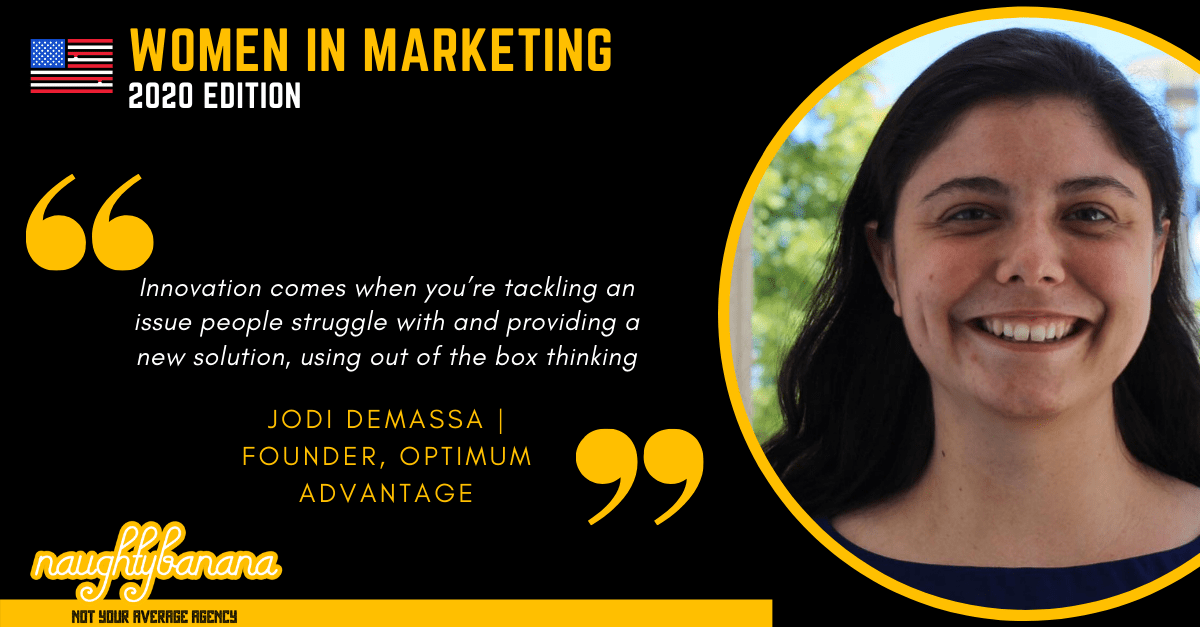 Jodi DeMassa, LinkedIn, Women In Marketing (Black)