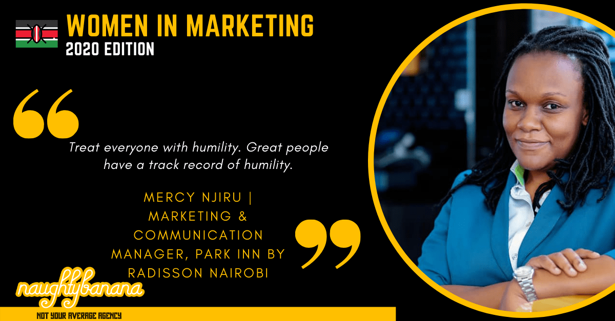 Mercy Njiru, LinkedIn, Women In Marketing (Black)