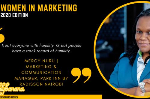 Mercy Njiru, LinkedIn, Women In Marketing (Black)
