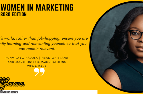 Funmilayo Falola, LinkedIn, Women In Marketing (Yellow)