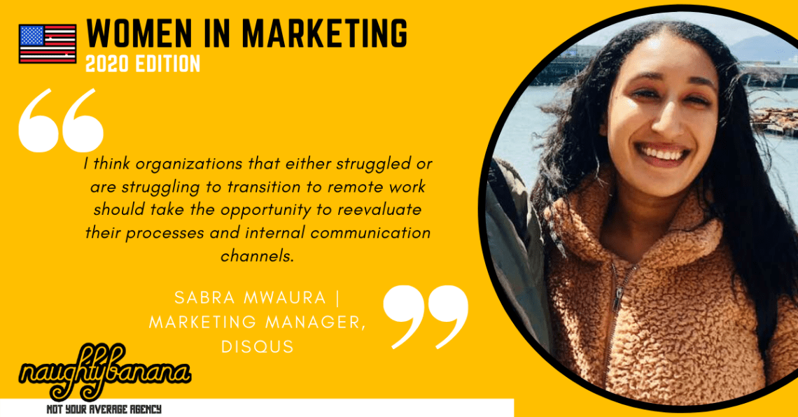 Sabra Mwaura, LinkedIn, Women In Marketing (Yellow)