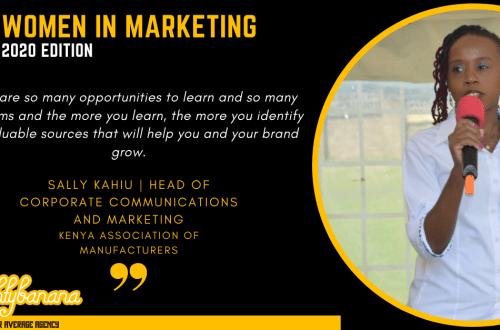Sally Kahiu, LinkedIn, Women In Marketing (Black)