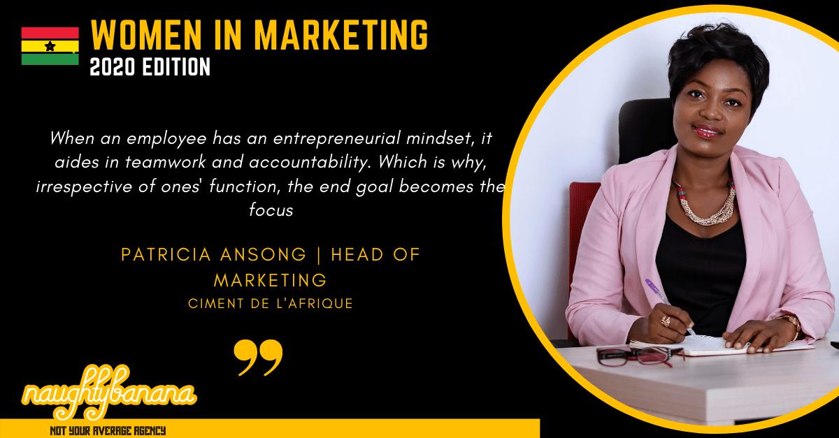Patricia Ansong, LinkedIn, Women In Marketing (Black)