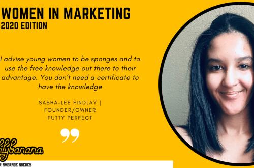 Sasha-Lee Findlay, LinkedIn, Women In Marketing (Yellow)