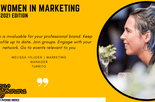 Melissa Viljoen, LinkedIn, Women In Marketing (Yellow)