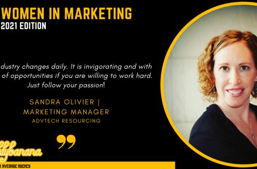 Sandra Olivier, LinkedIn, Women In Marketing (Black)
