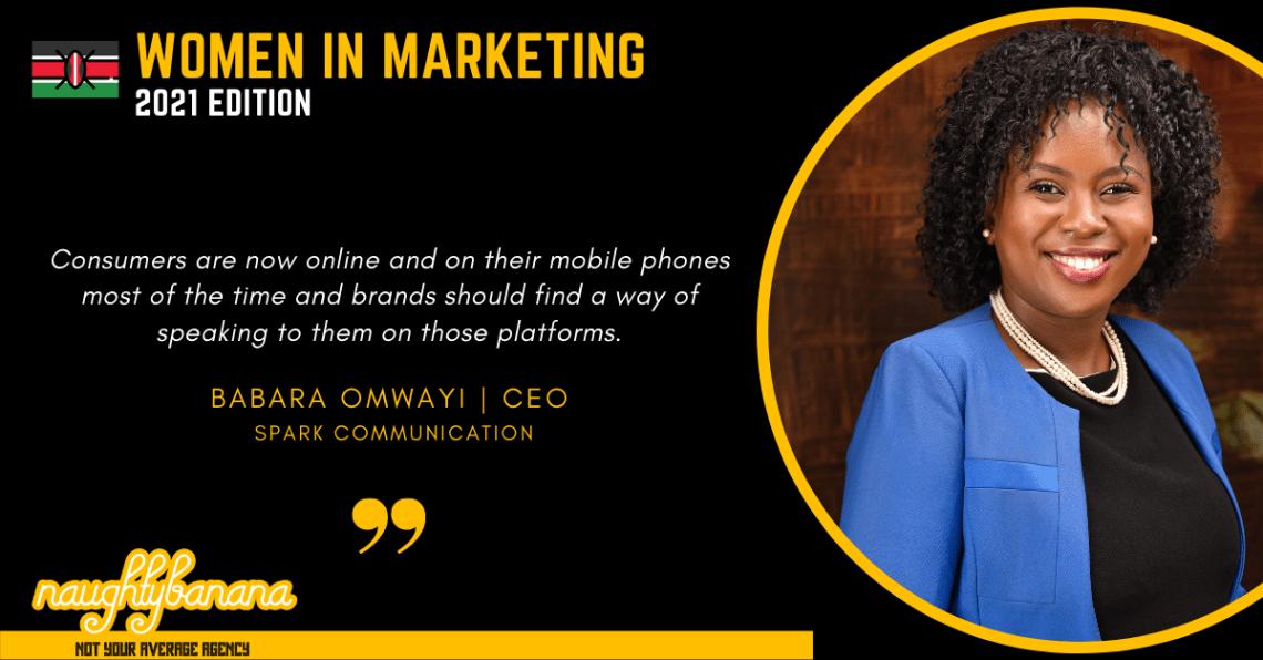 Babara Omwayi, LinkedIn, Women In Marketing (Black)