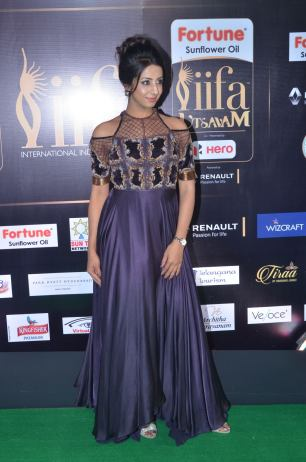 sanjjana hot at iifa awards 2017DSC_74370007