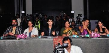 Jury Members Amit Talwar, Leena Mogre, Hiten Tejwani, Babita Verma, Reshmi Ghosh & Jyotsna Chandola at the finale of 'ARF Mrs. India 2017' Beauty Pageant was held at Sahara Star, Mumbai
