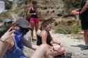 Gansta geology (bandanas to keep from inhaling ash)