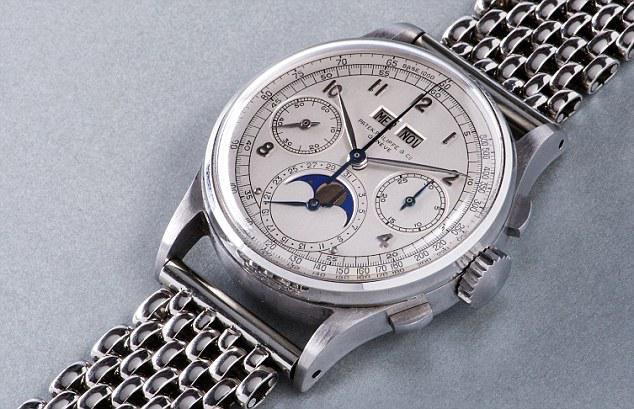 Zegarek wart 9 mln funtów