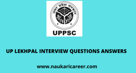 up lekhpal interview questions