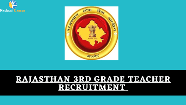 rajasthan 3rd grade teacher recruitment