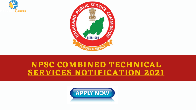 NPSC Combined Technical Services Notification 2021