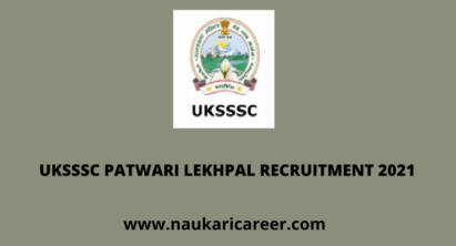 uksssc patwari lekhpal recruitment