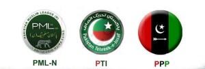 PPP-PTI-PML-N