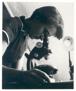 Rosalind Franklin w pracy
