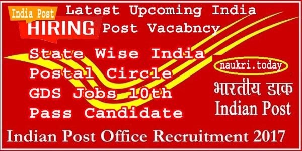 India Post Office Recruitment 2017
