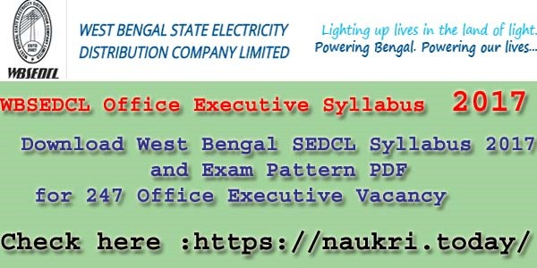 WBSEDCL Syllabus (1)