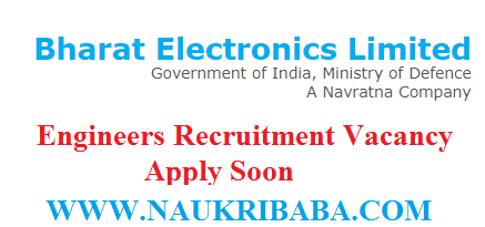 BEL INDIA ENGINEERS recruitment vacancy 2019