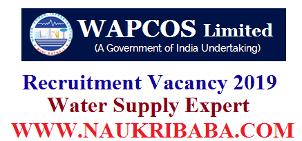 WAPCOS LIMITED recruitment-vacancy-2019-apply-soon